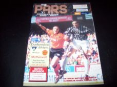 Dunfermline Athletic v Motherwell, 2000/01